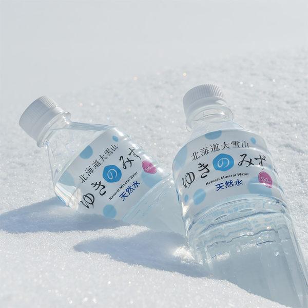 北海道大雪山天然礦泉水550ml(1箱 24瓶)-生活工場