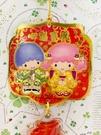 【震撼精品百貨】Little Twin Stars KiKi&LaLa 雙子星小天使~三麗鷗 雙子星賀年吊飾/掛飾-福#93322