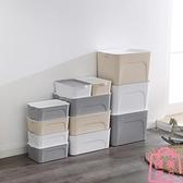 3件套 收納箱衣服玩具整理箱家用衣物儲物盒收納盒【匯美優品】