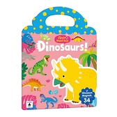 First Magnet Book-Dinosaurs