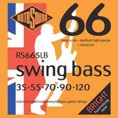 小叮噹的店 英國ROTOSOUND RS665LB (35-120) 五弦電貝斯弦 不銹鋼 旋弦公司貨
