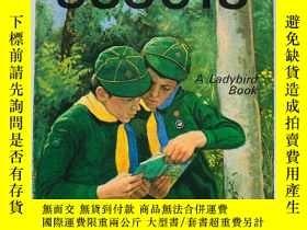 二手書博民逛書店A罕見Ladybird Book: Cub Scouts 英文原