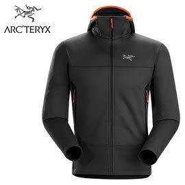 丹大戶外【Arc'teryx】始祖鳥 男連帽抓絨外套 5013316235CC 碳黑