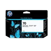 【奇奇文具】HP C9449A NO.70亮光黑繪圖機墨水匣