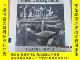 二手書博民逛書店外文書罕見Hovey paris underground 精裝本 共90頁Y15969