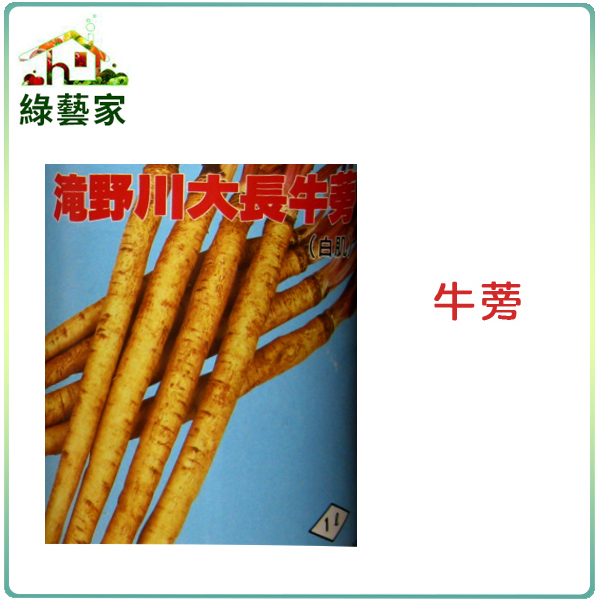 【綠藝家】C10.牛蒡種子50顆