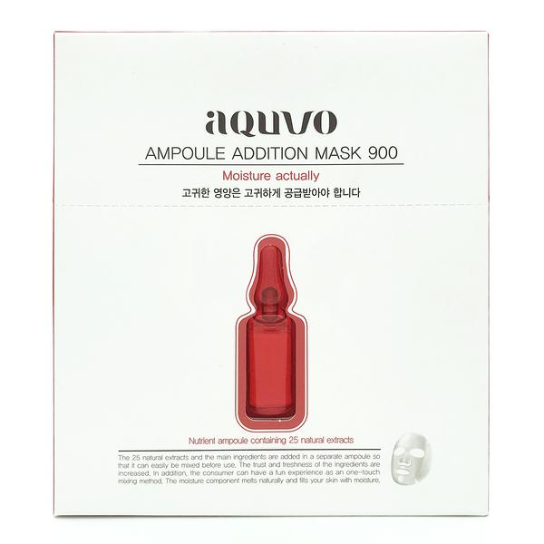 韓國 aquvo 安瓶面膜 旱地極潤 (5片/盒)【優.日常】