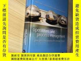 二手書博民逛書店Operations罕見and Process Manageme