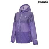 K-SWISS Two Tone Windbreaker抗UV風衣外套-女-紫