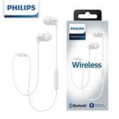 PHILIPS飛利浦 SHB3595WT/10 無線藍牙4.1耳機-白色