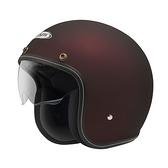 ZEUS 瑞獅安全帽,ZS-388,zs388,素色/消光酒紅