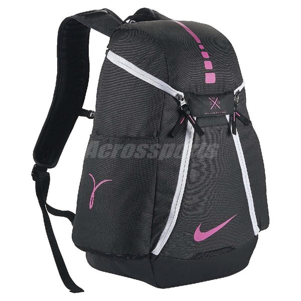 Nike 後背包 Hoops Elite Max Air 黑 粉紅 乳癌防治 Kay Yow 包包 男女款 【PUMP306】 BA5259-061