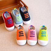 春秋兒童 帆布 單鞋 男童女童 寶寶學步鞋1-3歲 韓版潮鞋球鞋 雲雨尚品
