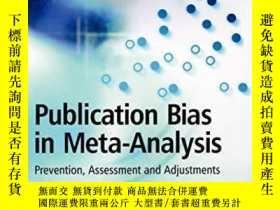 二手書博民逛書店Publication罕見Bias In Meta-analysisY256260 Rothstein, Ha