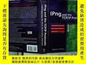 二手書博民逛書店IPNG罕見AND THE TCP IP PROTOCOLS-'