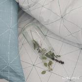 【預購】兩用被套床包組 / 單人【克卜勒】ikea風格  100%精梳棉 工業風 純棉 翔仔居家