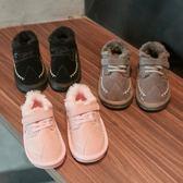 童鞋 女童靴子秋冬季正韓男童加絨雪地靴小公主軟底保暖寶寶棉鞋潮  新主流