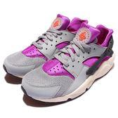 【五折特賣】Nike 武士鞋 Air Huarache 運動 休閒 慢跑 流行 韓風 潮流 灰紫 男鞋【PUMP306】 318429-502
