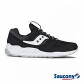 SAUCONY GRID 9000 經典復古鞋款-黑X白