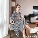 T恤裙 夏季ins韓版小眾設計感連身裙遮...