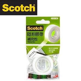 3M 810R-15M Scotch® 隱形膠帶補充包(19mmx15m) / 個