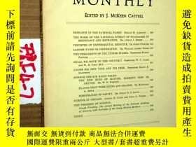 二手書博民逛書店SCIENTIFIC罕見MONTHLY 科學月刊1933年6月