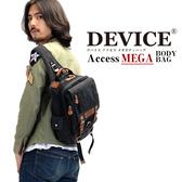 日本流行的背包 現貨 【日本名牌DEVICE】代理商正品 軍風 方形肩包 斜跨包 帆布 DBH-30038-35
