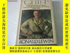 二手書博民逛書店THE罕見CHIEF RONALD LEWIN 1937-194