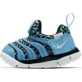 Nike Dynamo Free 男 女 孩 幼童鞋 水藍 豹紋 兒童 毛毛蟲鞋 運動鞋 學步鞋 834366402