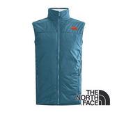 The North Face 男 刷毛雙面保暖背心 灰藍/灰白 CTT6