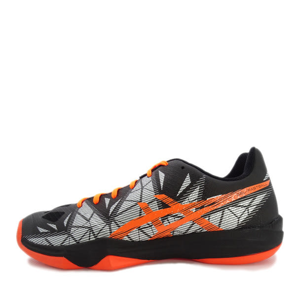 Asics GEL-Fastball 3 [E712N-001] 男鞋 運動 排球 羽球 桌球 手球 緩衝 亞瑟士 黑橘