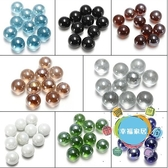 裝飾玻璃珠 彩色玻璃珠 彈珠16mm 兒童玩具彈珠 直徑1.6CM波子球跳棋子