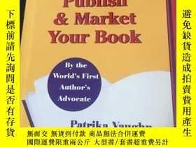 二手書博民逛書店write罕見publish market your bookY