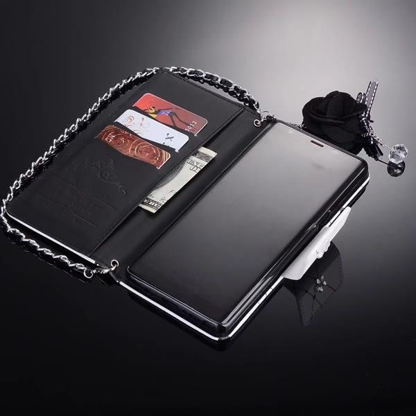 送吊飾 三星 Note5 Note4 PZ黑茶花系列 皮套 碎花 韓系 手機殼 插卡 軟殼 保護套