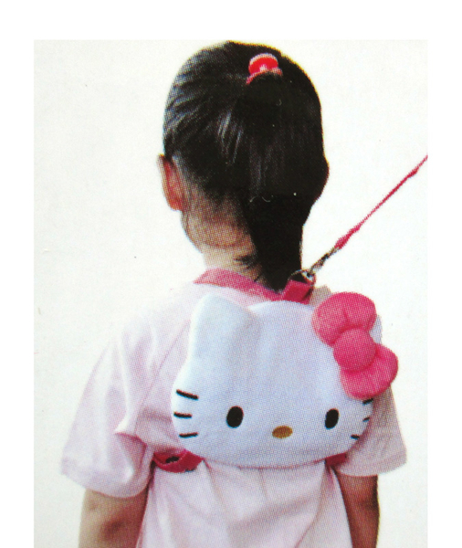 【卡漫城】 Hello Kitty 幼兒 防走失包 ㊣版  後背包 凱蒂貓 絨毛玩偶 小 書包  5 4 0 元