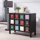【森可家居】鮑伯工業風3尺三抽置物櫃 8HY399-04 三斗櫃 收納 美式復古 英倫仿舊 餐櫃