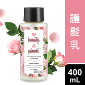 Love Beauty & Planet 保加利亞玫瑰染燙修護護髮乳 400ML
