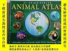 二手書博民逛書店slide罕見and discover : animal atl