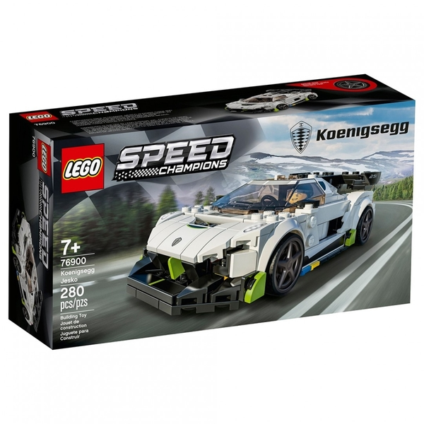 樂高積木 LEGO《 LT76900 》SPEED CHAMPIONS 系列 - Koenigsegg Jesko / JOYBUS玩具百貨