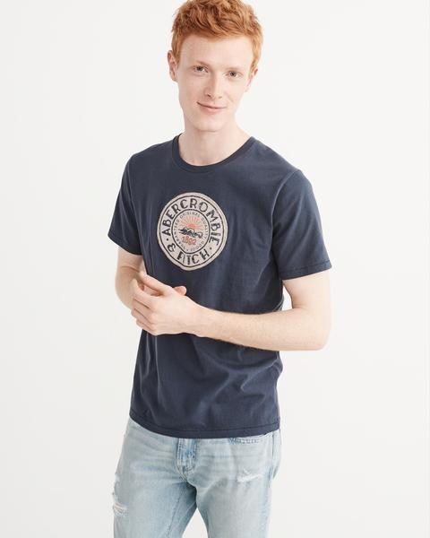 AF Abercrombie & Fitch A&F A & F 男 當季最新現貨 短袖T恤 AF R735