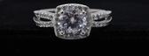 【御鑽利保】凡購買30分以上 一年內八折回收 一年後全折回收 GIA F color 50分18K金鑽石戒指