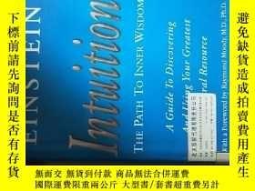 二手書博民逛書店INTUITION:THE罕見PATH TO INNER WIS