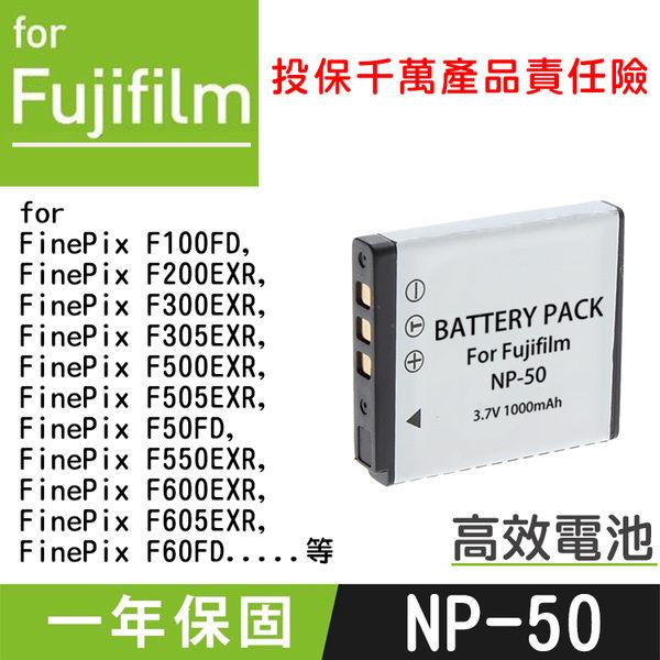 特價款@攝彩@Fujifilm NP-50 副廠電池 FNP50 X20 XF1 與Pentax D-Li68共用