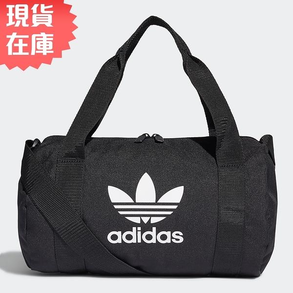 【現貨】Adidas Adicolor Shoulder Bag 旅行袋 手提袋 健身 黑【運動世界】GD4582