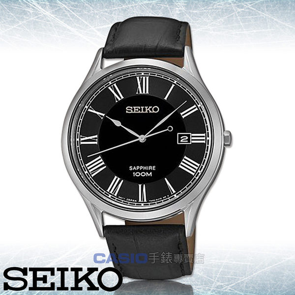 SEIKO 精工 手錶專賣店 國隆  SGEG99P1 男錶 石英錶 真皮錶帶 藍寶石水晶 防水 全新品