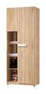 【森可家居】多莉絲2.5尺收納衣櫃(單只-編號3)  7ZX121-8 衣櫥 衣物收納 木紋質感 無印風 北歐風