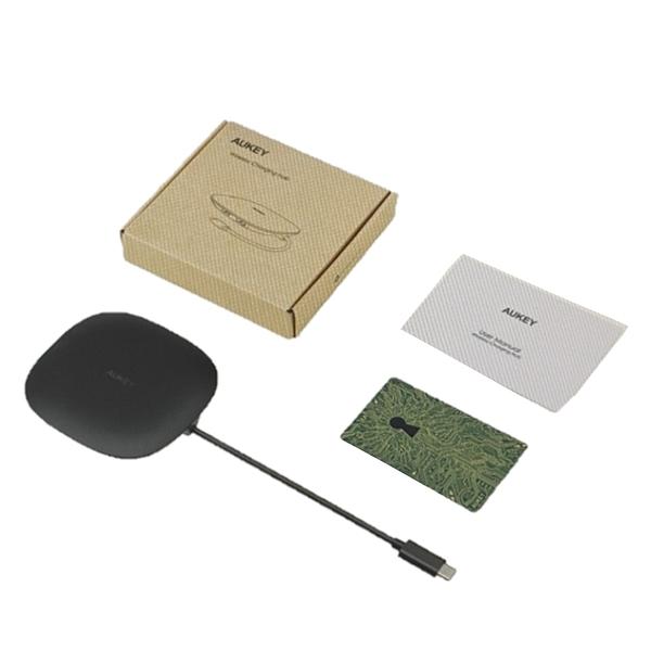 [9美國直購] AUKEY 五合一無線充電盤 2 USB 3.0 Ports, 4K HDMI and 100W Power Delivery Compatible