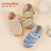 寶寶鞋秋季1-3歲2男女嬰兒軟底學步鞋子透氣防滑機能鞋運動小童鞋【萬聖節88折