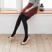 日系高質感針織保暖褲襪絲襪(黑)