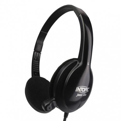 INTOPIC 廣鼎 JAZZ-220 頭戴式耳機麥克風